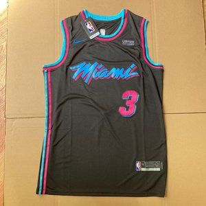 Nba Tops Dwyane Wade Miami Heat Vice Nights Swingman Jersey Poshmark